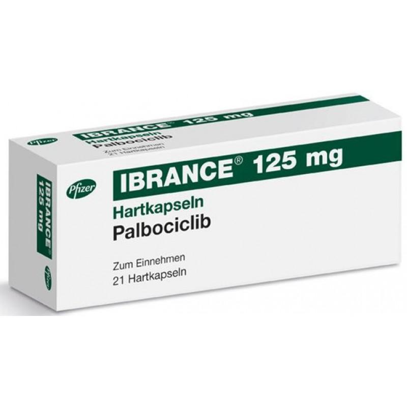 Ибранс Ibrance (Палбоциклиб) 125 мг/21 капсул
