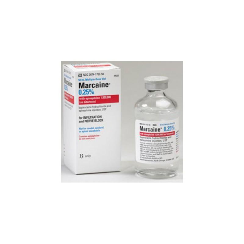 Бупивакаин (Маркаин) Bupivacain (Marcaine) 0,25% 10х5 мл