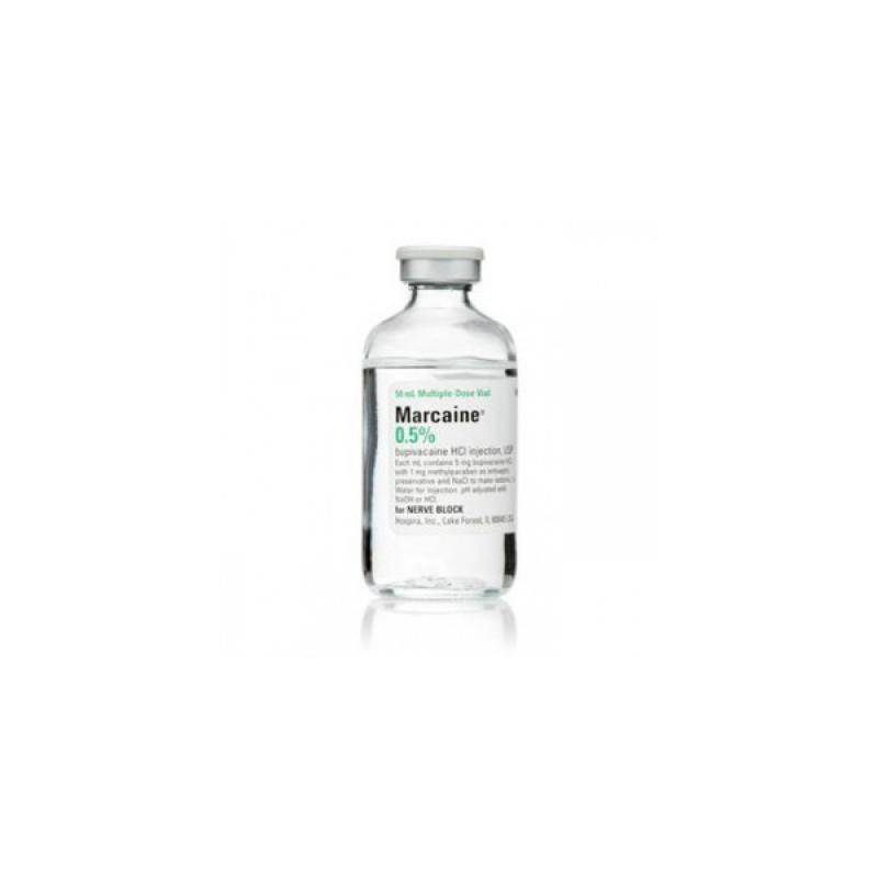 Бупивакаин (Маркаин) Bupivacain (Marcaine) 0,5% 5х10 мл