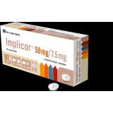Импликор IMPLICOR 50MG/7.5MG - 56 Шт