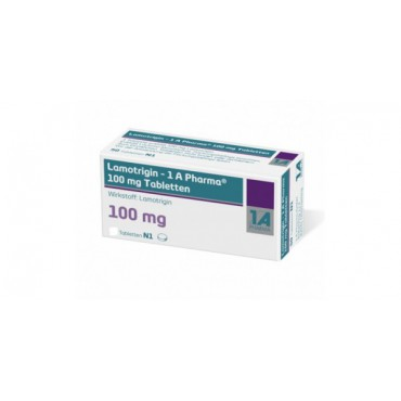 Купить Ламотригин Lamotrigin 100 мг/ 100 таблеток   в Москве