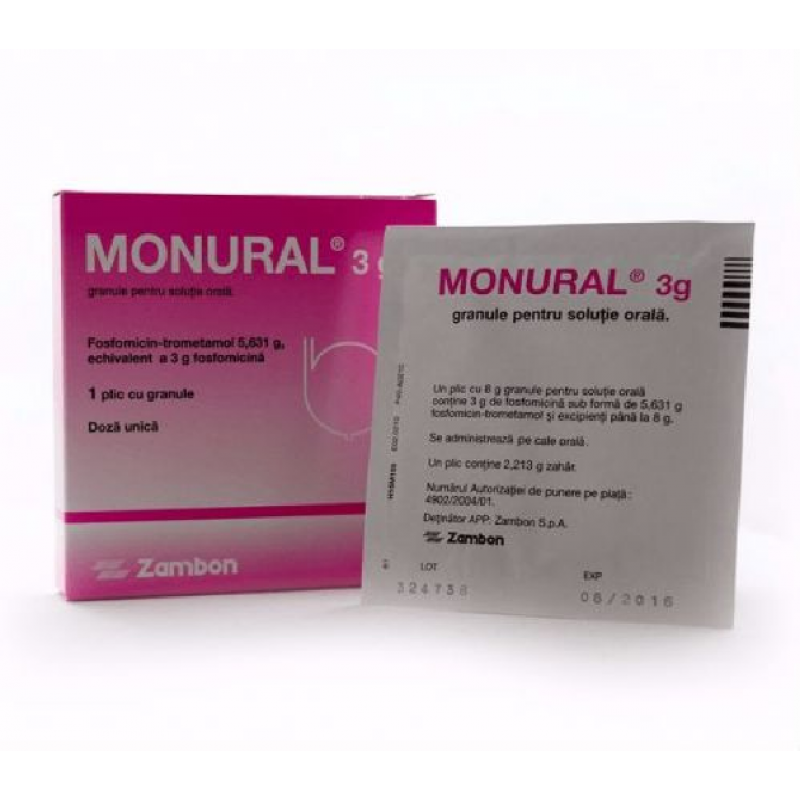 Монурал MONURAL 3000 MG - 1x8G