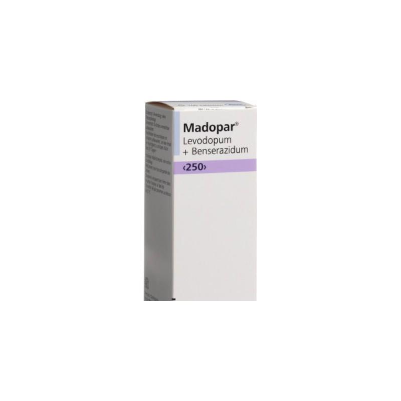 Мадопар Madopar 250/100 таблеток