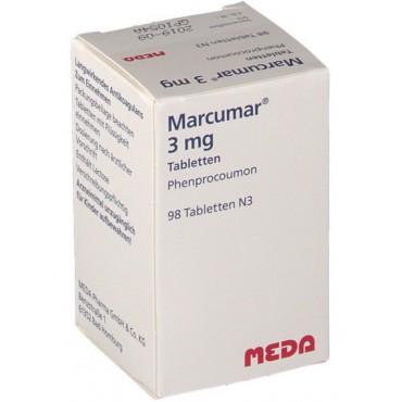 Купить Маркумар Marcumar 3 мг/98 таблеток   в Москве