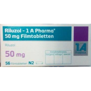 Купить Рилузол RILUZOL 50 мг/56 таблеток в Москве