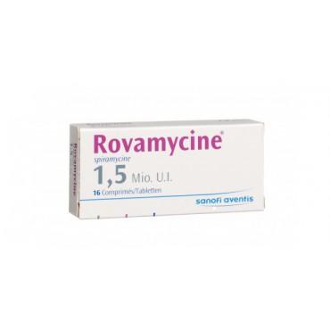 Купить Ровамицин Rovamicin 1,5 млн/30 таблеток   в Москве
