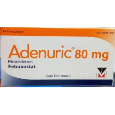 Купить Аденурик Adenuric 80 мг/ 84 таблеток в Москве