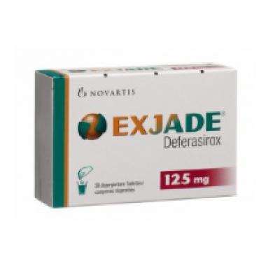 Купить Эксиджад Exjade 125 мг/84 таблеток в Москве