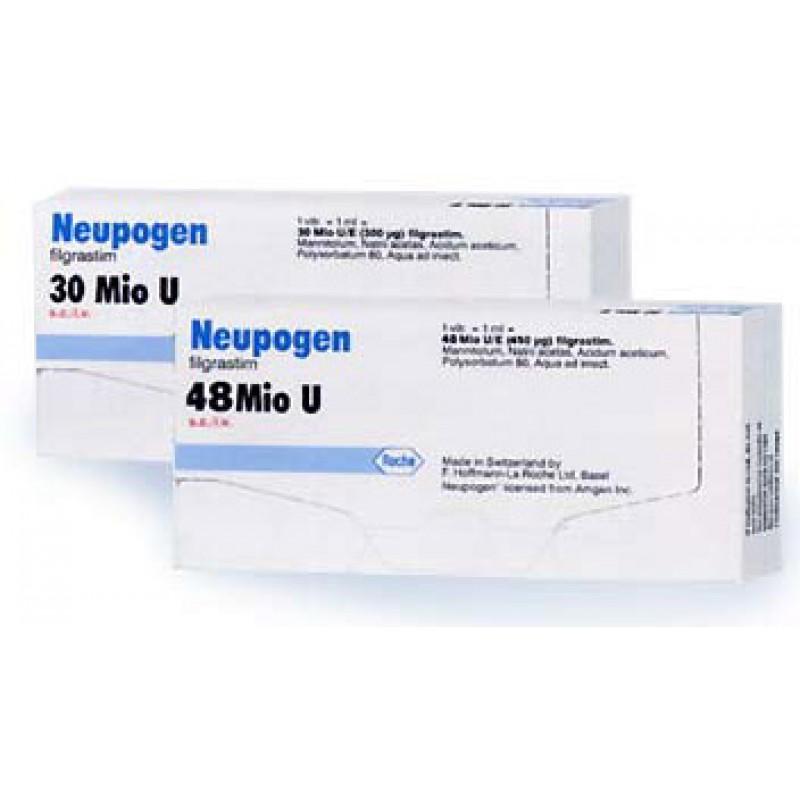 Нейпоген Neupogen 48 млн/ 5 готовых шприца