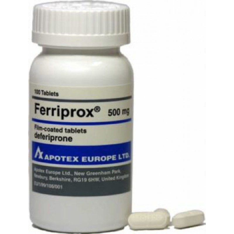 Феррипрокс Ferriprox 500MG/1000 шт