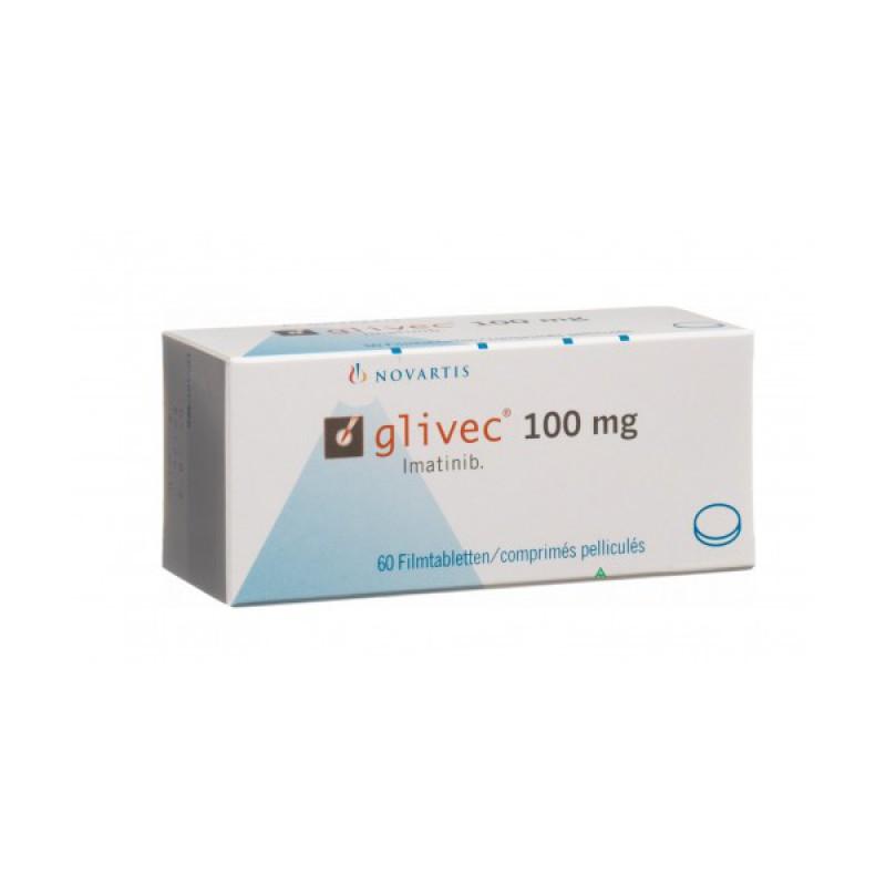 Гливек Glivec 100 мг/60 таблеток