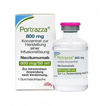 Купить Портразза Portrazza (Нецитумумаб) 50 мл/1 флакон в Москве