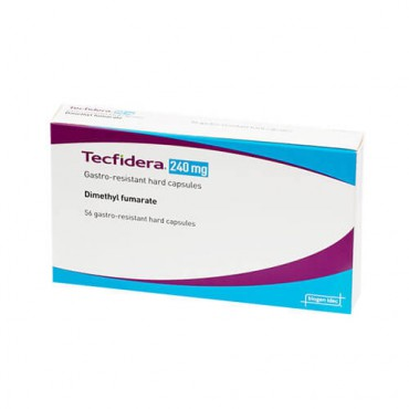 Купить Текфидера Tecfidera (Диметилфумарат) 240 мг/ 56 капсул в Москве