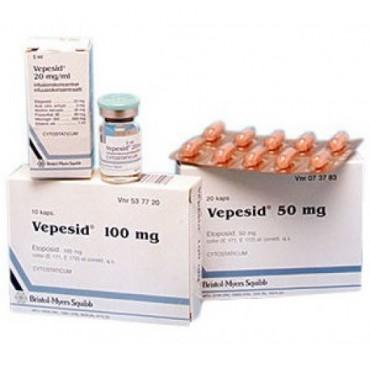 Купить Вепезид Vepesid 100 мг/10 капсул в Москве