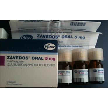 Купить Заведос Zavedos 10 мг/3 капсулы в Москве