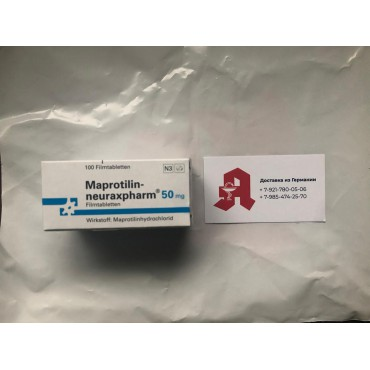 Купить Мапротилин MAPROTILIN 50 Мг - 100 Шт в Москве