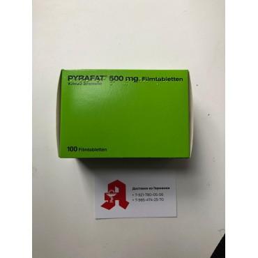 Купить Пирафат (Пиразинамид) PYRAFAT(Pyrazinamidum) 500MG - 100 Шт в Москве