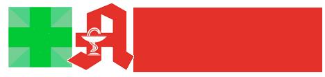 Логотип компании Alpha-Apteka